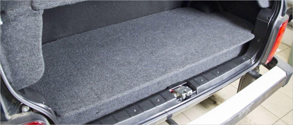 Оганайзер багажника  для Лада Нива 3дверная. Тем кому нужен порядок в багажнике!