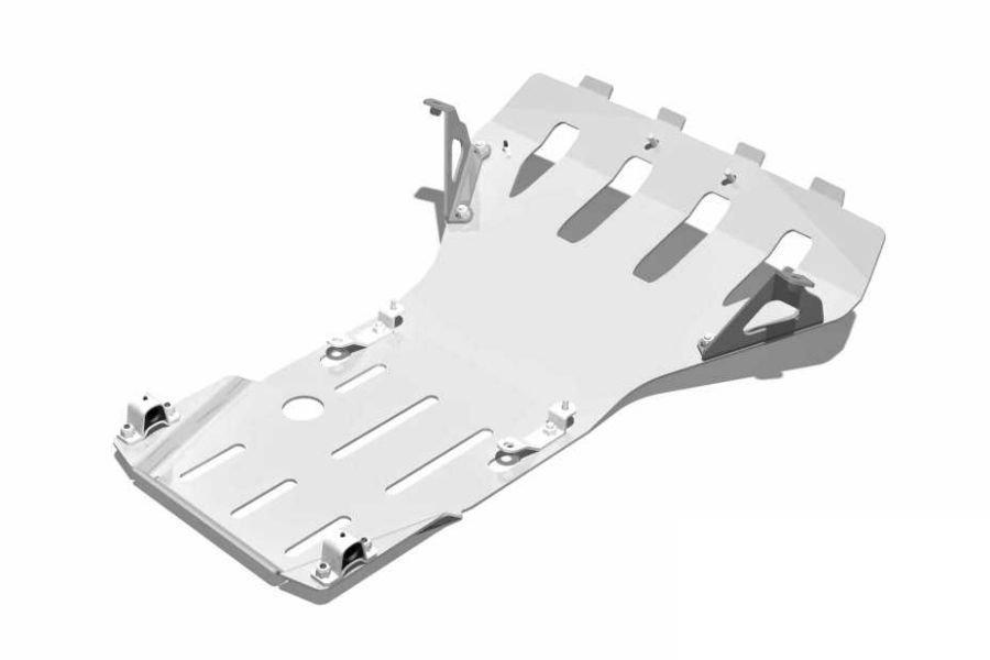 Защита двигателя и переднего редуктора (сталь/дюраль)
