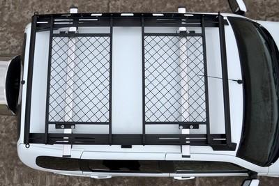 Багажник-корзина на 2 или 3 секции. Быстросъёмная, универсальная  на поперечины (Лада 4х4 и Шевроле Нива)