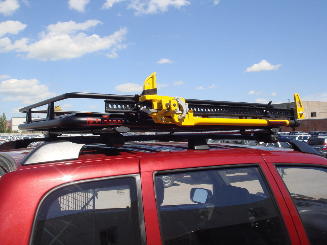 Багажник экспедиционный с креплением на рейлинги, укороченный