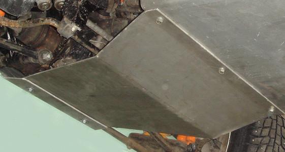 Защита коробки передач (сталь 3мм.)