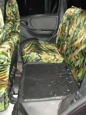 ГрязеЗащитные чехлы задние сиденья