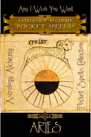 Aries Astrology Alchemy Spell, $37