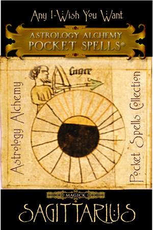 Sagittarius Astrology Alchemy Spell, $37