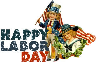 Happy Labor Day Custom Holiday Spell, $89