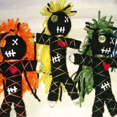 Authentic Voodoo, Vodou and Hoodoo Doll For Karma $89