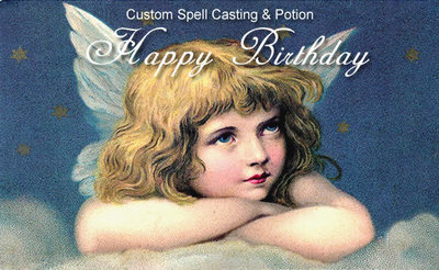 Birthday Custom Holiday Spell, $89