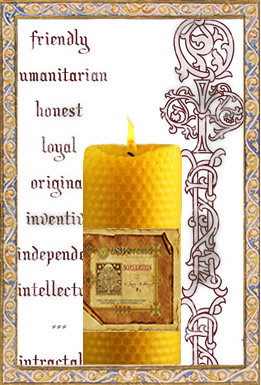 Aries - Spellbinding Zodiac Candle, $89