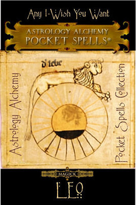 Leo Astrology Alchemy Spell, $37