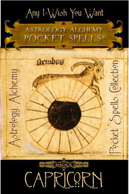 Capricorn Astrology Alchemy Spell, $37