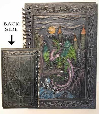 Mystical Dragon Journal, $129