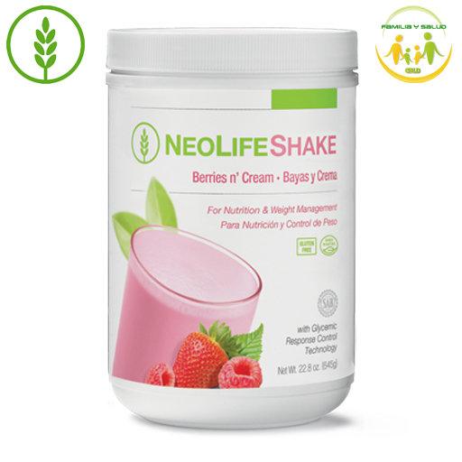 NeoLifeShake (Chocolate, Vainilla Cremosa, Frutos Rojos con Crema)