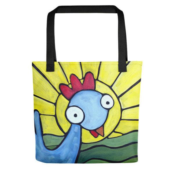 Sunshine Girl Weirdimal Tote bag 00034
