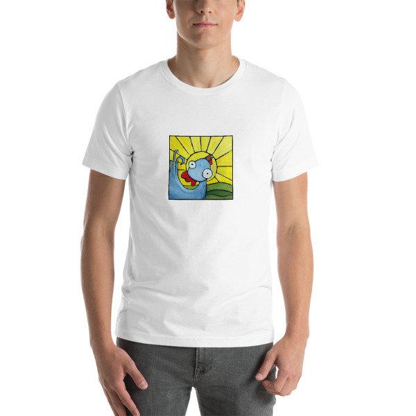 Mr. Good Morning Weirdimal Short-Sleeve Unisex T-Shirt 111234706