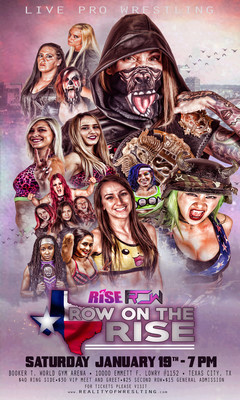 RISE - ASCENT: ROW on The RISE Collection DVD/Blu-ray