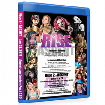 RISE 2 - ASCENT DVD/Blu-ray