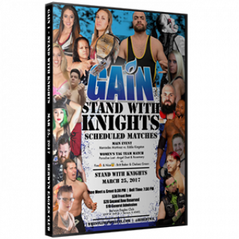 GAIN 1 - STAND WITH KNIGHTS DVD