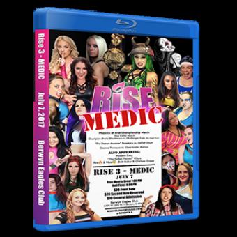 RISE 3 - MEDIC DVD/Blu-ray