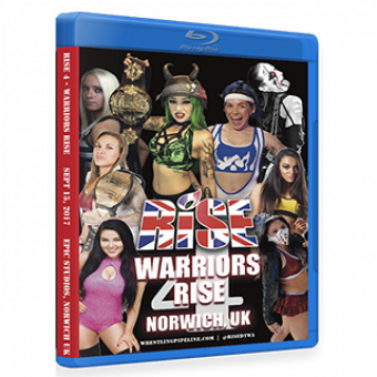 RISE 4 - WARRIORS RISE DVD/Blu-ray