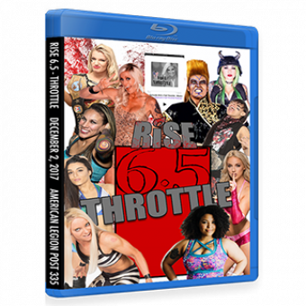 RISE 6.5 - THROTTLE DVD/Blu-ray