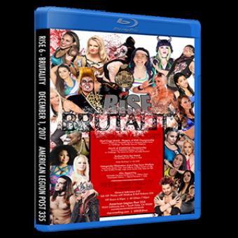 RISE 6 - BRUTALITY DVD/Blu-ray