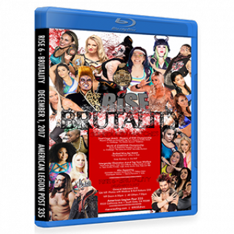 RISE 6 - BRUTALITY DVD/Blu-ray