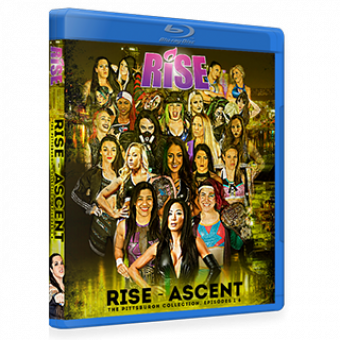 RISE - ASCENT: The Pittsburgh Collection Episodes 1-6 DVD/Blu-ray