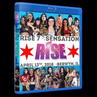 RISE 7 - SENSATION DVD/Blu-ray