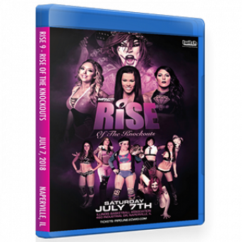 RISE 9 - RISE of The Knockouts DVD/Blu-Ray