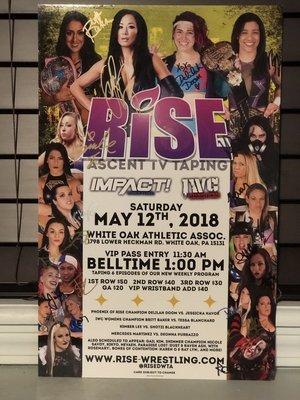 RISE - ASCENT Pittsburgh Signed Poster