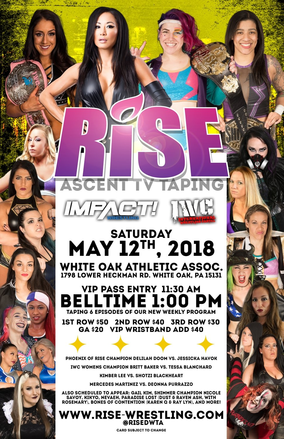 RISE - ASCENT Pittsburgh Poster