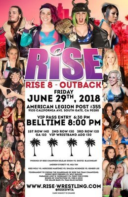 RISE 8 - OUTBACK Poster