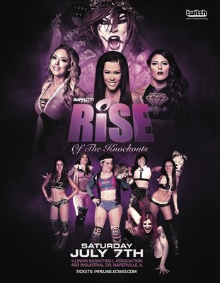 RISE 9 - RISE of The Knockouts Poster