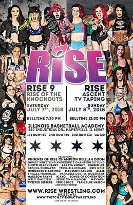 RISE 9 + ASCENT Full Weekend Poster