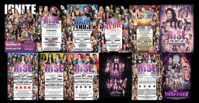 RISE Live Event Posters Collectors' Pack