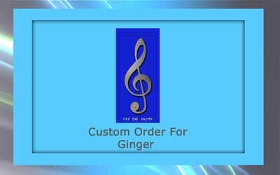 Custom order for Ginger F.