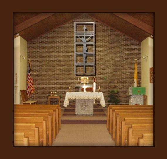 """Contemporary Crucifix - Shadows of Christ"""