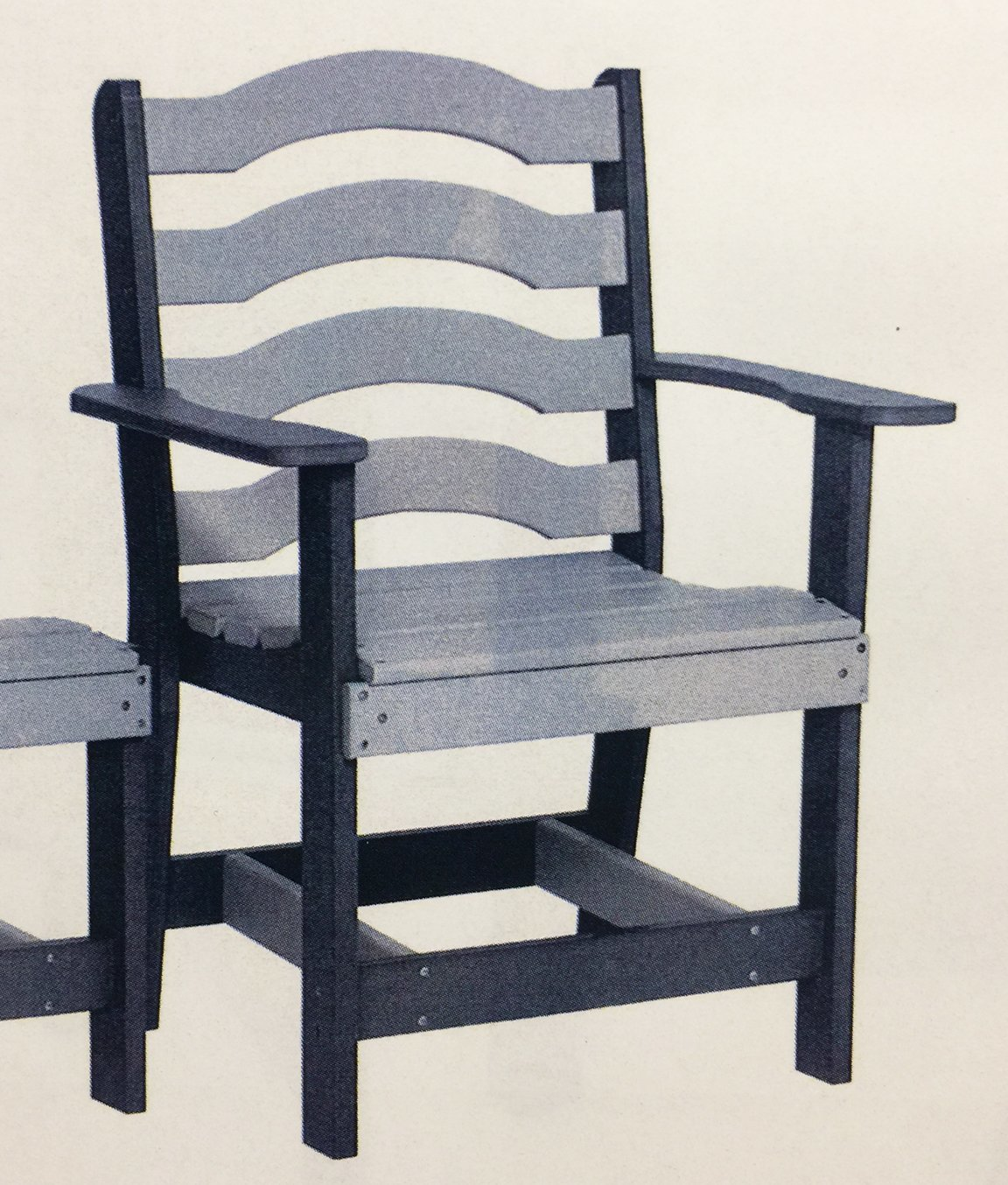 Captain Ladder Back Dining Chair