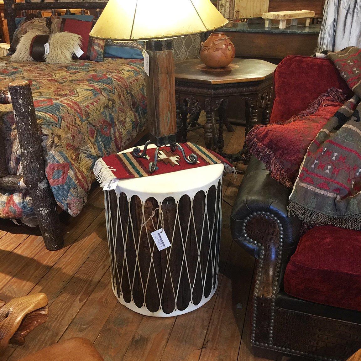 "Tarahumara Indian Drum 20""X24"""