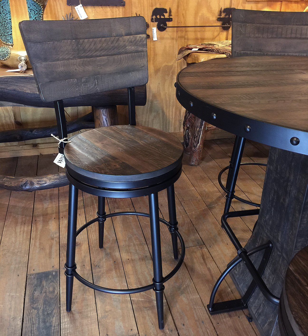 Jennings Swivel Stool Counter Height