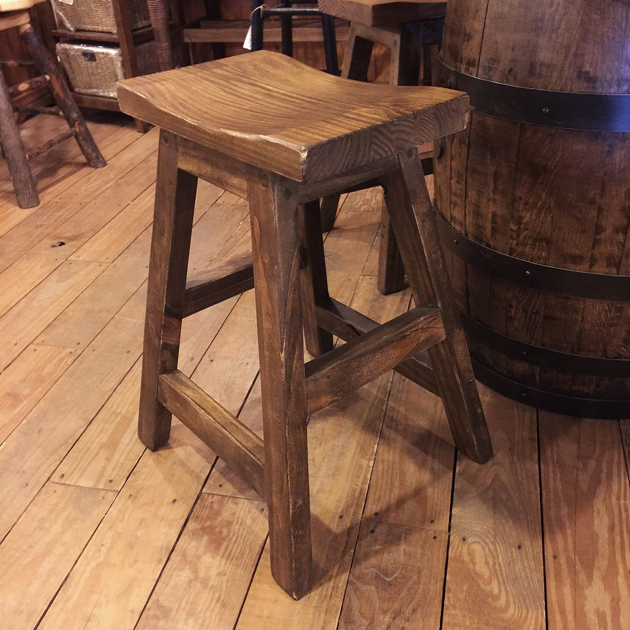 "Counter Stool 26"" Natural"