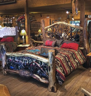 Locust and Mountain Laurel King Bed