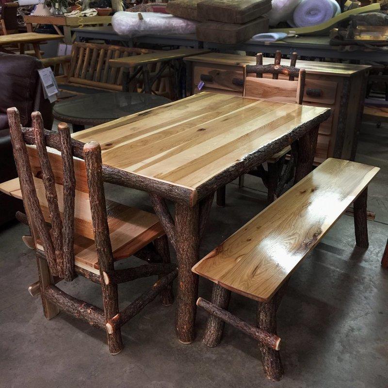 Hickory Table Set
