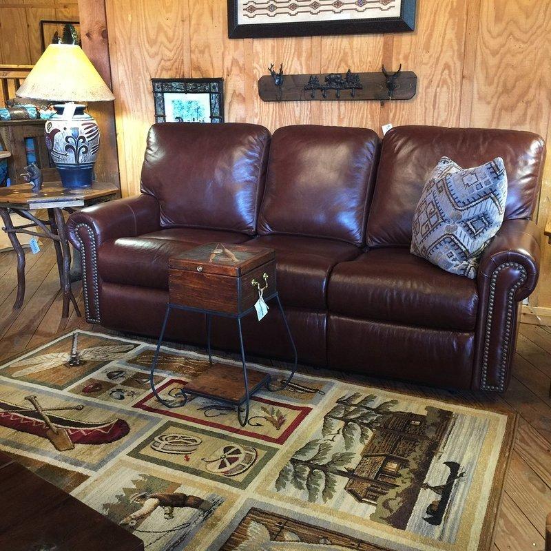 Fairmont 3C Reclining Sofa w/Navajo Pecan
