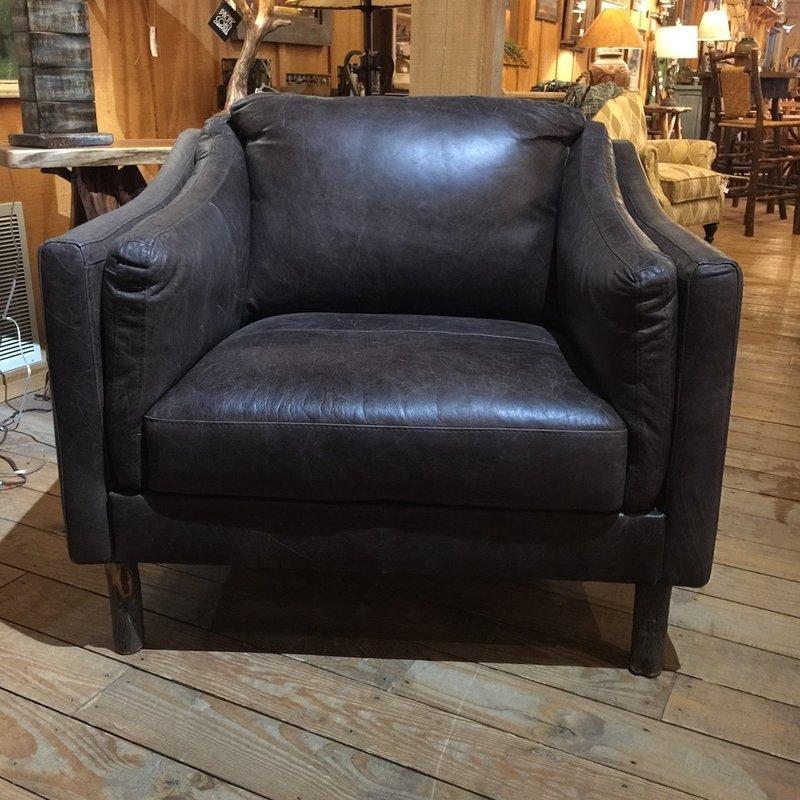 Chair Chocolate Steel
