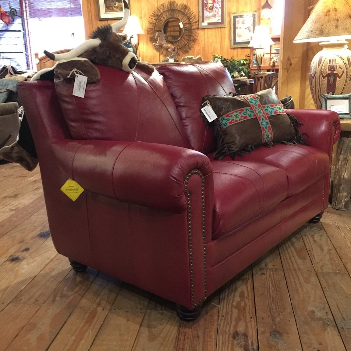 Weston Loveseat 2525 Cherry