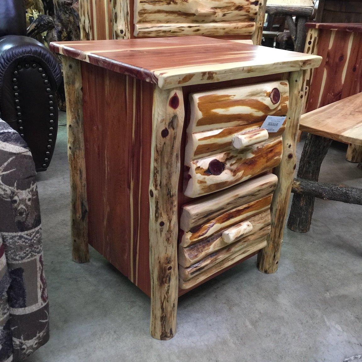 Red Cedar Night Stand