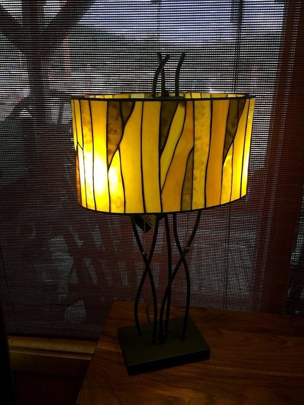Oak Vine Table Lamp Shade