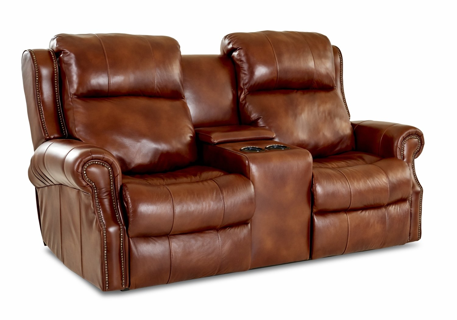 Blue Ridge 4.1 Console Reclining Loveseat (Manual)