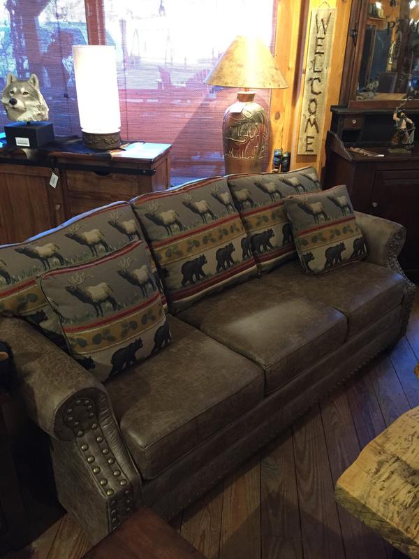 Palance Silt/Lodge Sofa